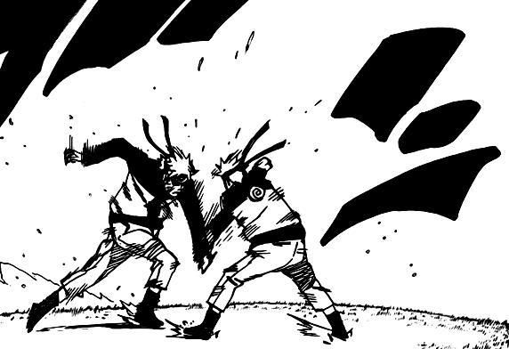 Наруто манга 493 / Naruto manga 493