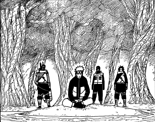 Наруто манга 495 / Naruto manga 495